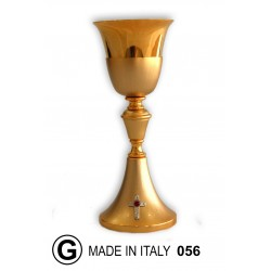 Traditional chalice reeded H 22 cm diameter 9 cm Cup CIBORIUM ART 161