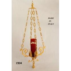 Croce da mensa in fusione h 28 cm