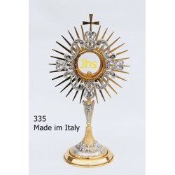 Monstrance in the merger last supper H 43 cm