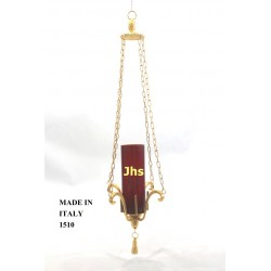Suspension lamp in cast H 23 cm 15 cm L