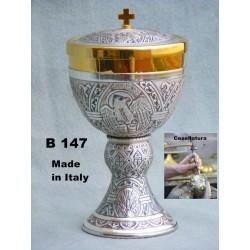 Knurled TOP Goblet H 28.5 cm 9 Cup CIBORIUM ART B 138