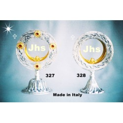 Monstrance from fusion table H 13.5 cm 20.5 L