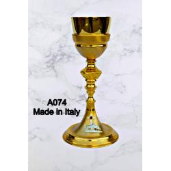 Ostensorio in fusione H 23 cm