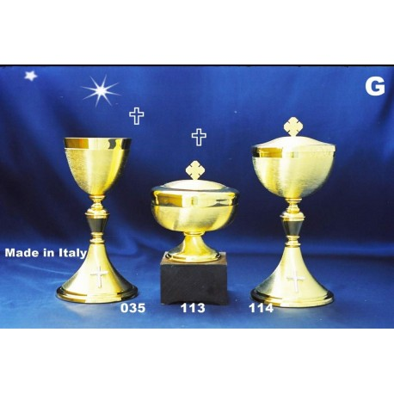 Spell Goblet Cup diameter knurled 9.5 cm H 21.5 cm PYX ART 114