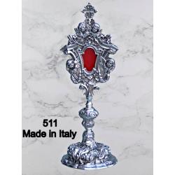 Traditional knurled diameter Cup ciborium 11 cm H 27 cm