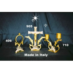 Chandelier in cast with Angel on the basis of 2 H 18 cm flames