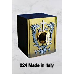 Candeliere in stile barocco ALTO interamente in fusione H 27.5 cm
