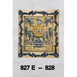 High Baroque candlestick H 27.5 cm