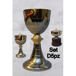 Hammered glass H 9 cm Cup CIBORIUM 22.5 ART B 127