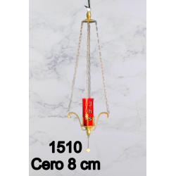 Hand-engraved Goblet 18.5 H 9 cm Cup CIBORIUM ART B100
