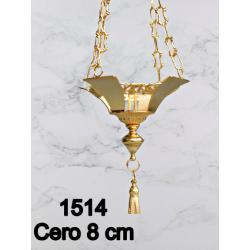 Engraved Baroque style Goblet H 21 cm 9 Cup CIBORIUM ART B 101